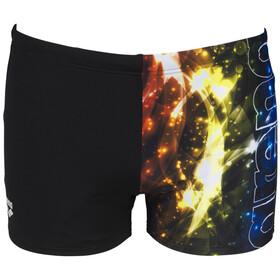 arena Vibration Shorts Men, black/multi